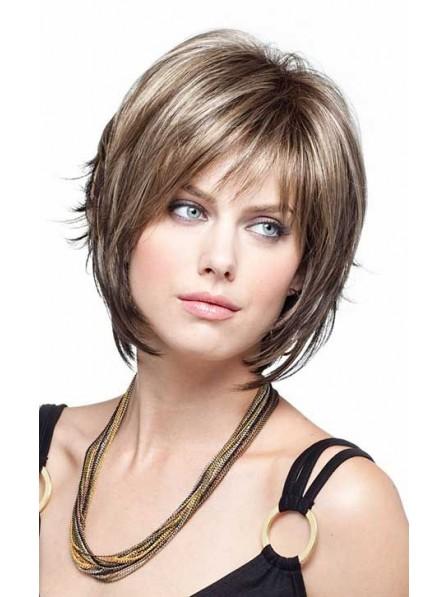 Simply Chin Length Straight Hair Wig