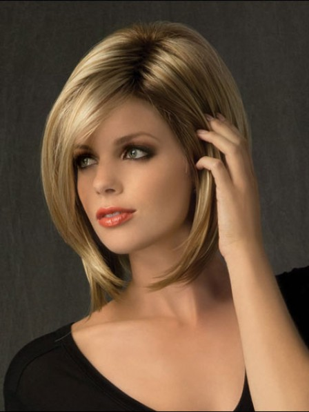 Bob Straight Lace Front Remy Human Hair Women Wig