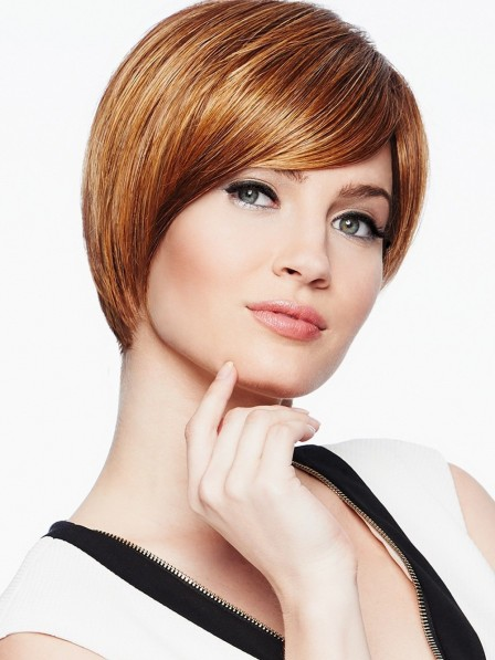 Young Short Cut Wig For Ladies