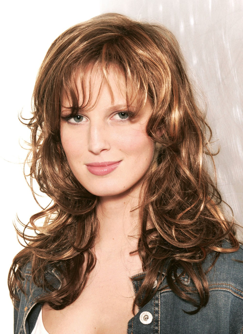 Classic Long Curly Synthetic Fashion Wigs