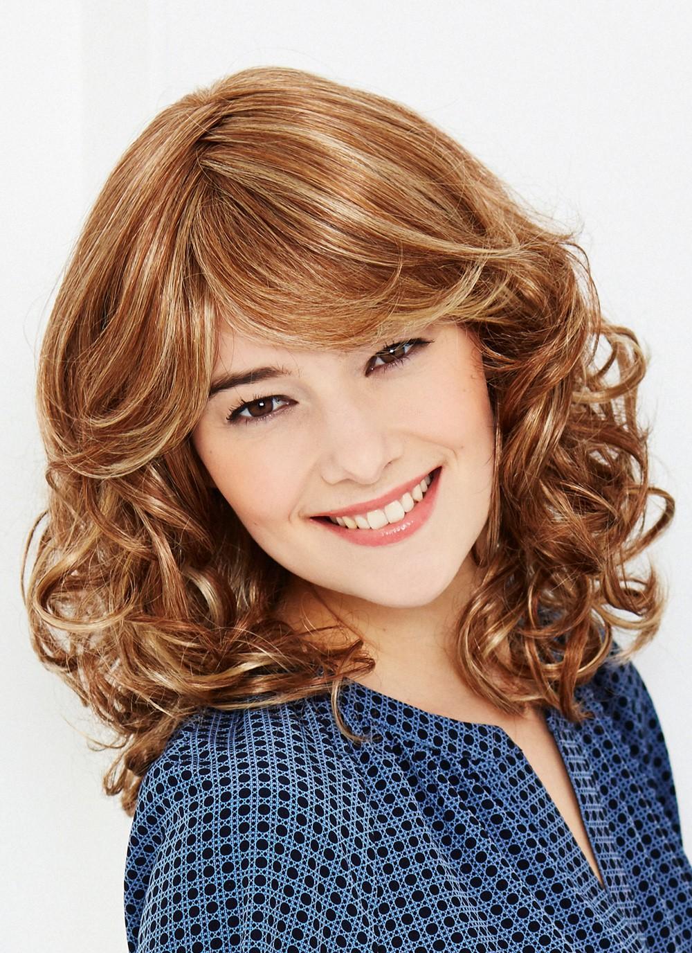 Human Hair Capless Women Wigs Shoulder Length