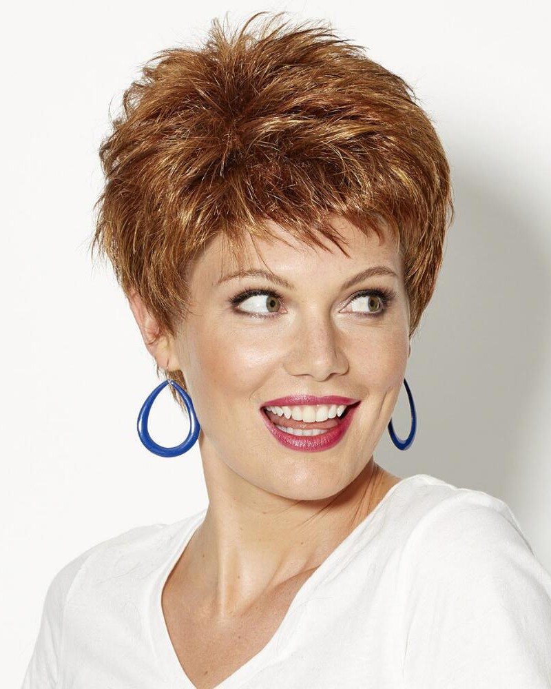 pixie haircut wigs spirited pixie wigs with piecey layers and razored bangs 5341