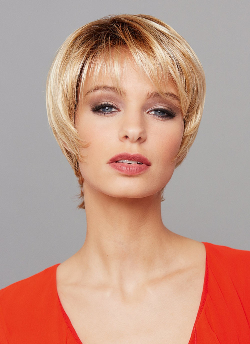 short cut blonde ladies hair wigs