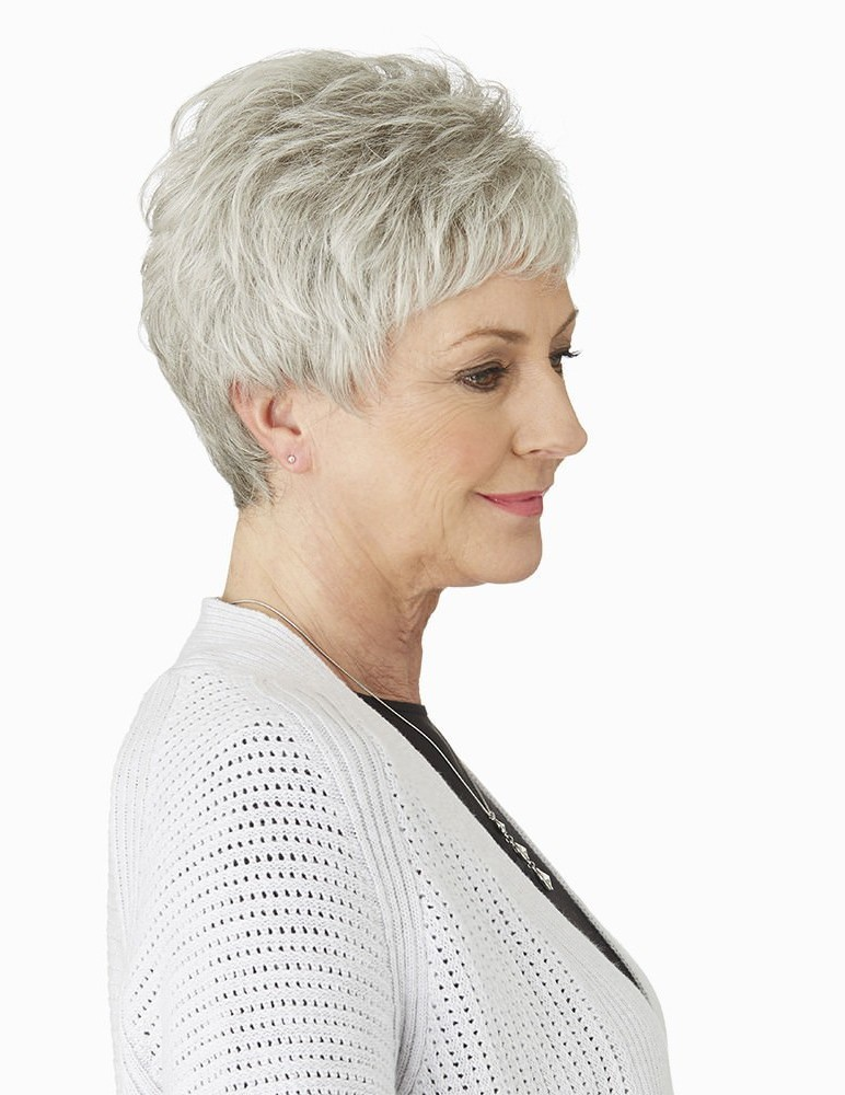 890b6a6e8dcf29 short grey hair wigs - Wearing high quality wigs is in fashion today,  common people like to use full lace or front lace wigs. Search and find the  best wigs ...