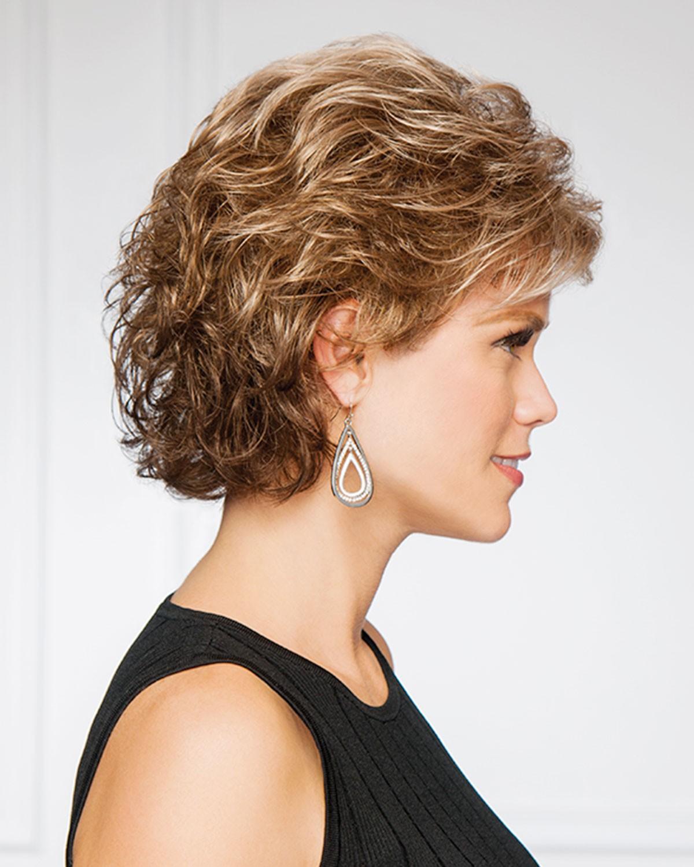 Fashion Short Women Wigs For Older Ladies