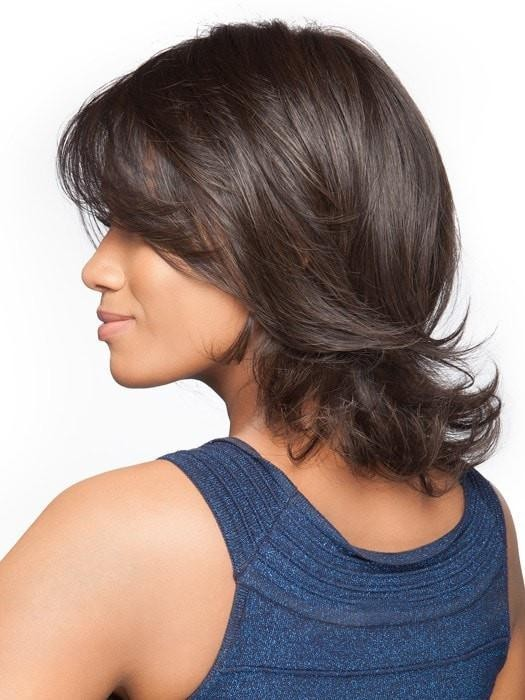 Feathered Bob Wigs With Flipped Ends
