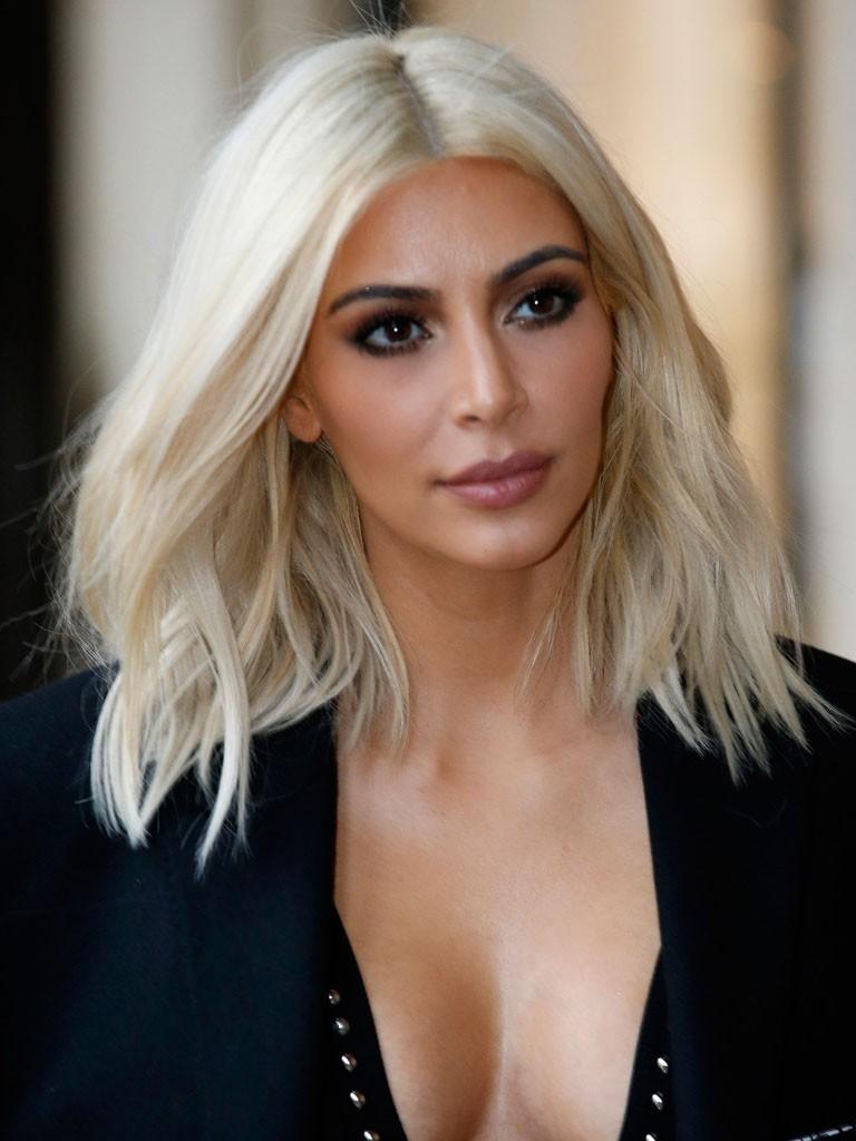 Kim Kardashian Medium Blonde Lace Front Wig Rewigs Co Uk