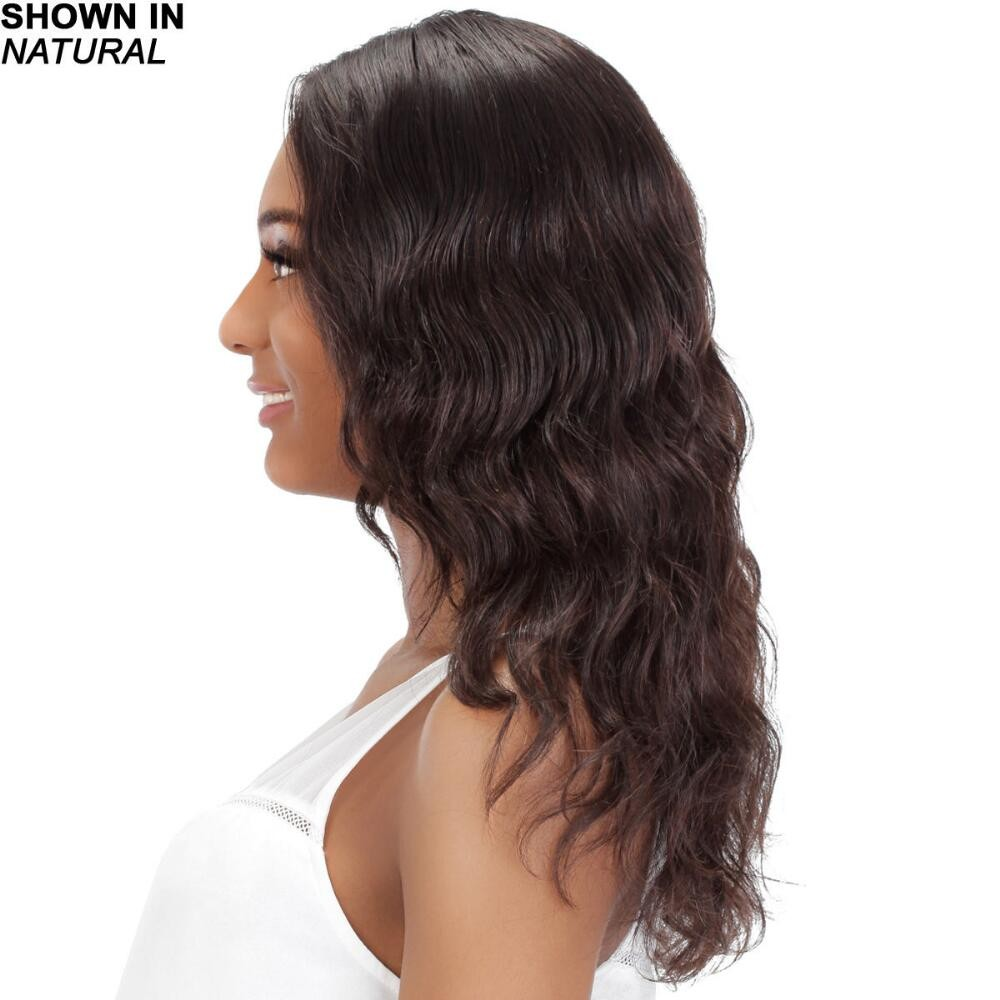 Lace Front Wig With Long Wavy Layers In Luxurious Remy