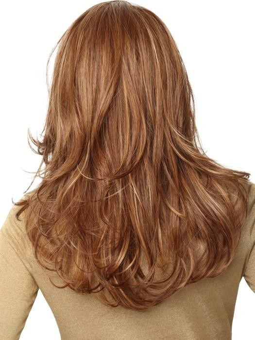 Long Layered Waves Lace Front Wigs