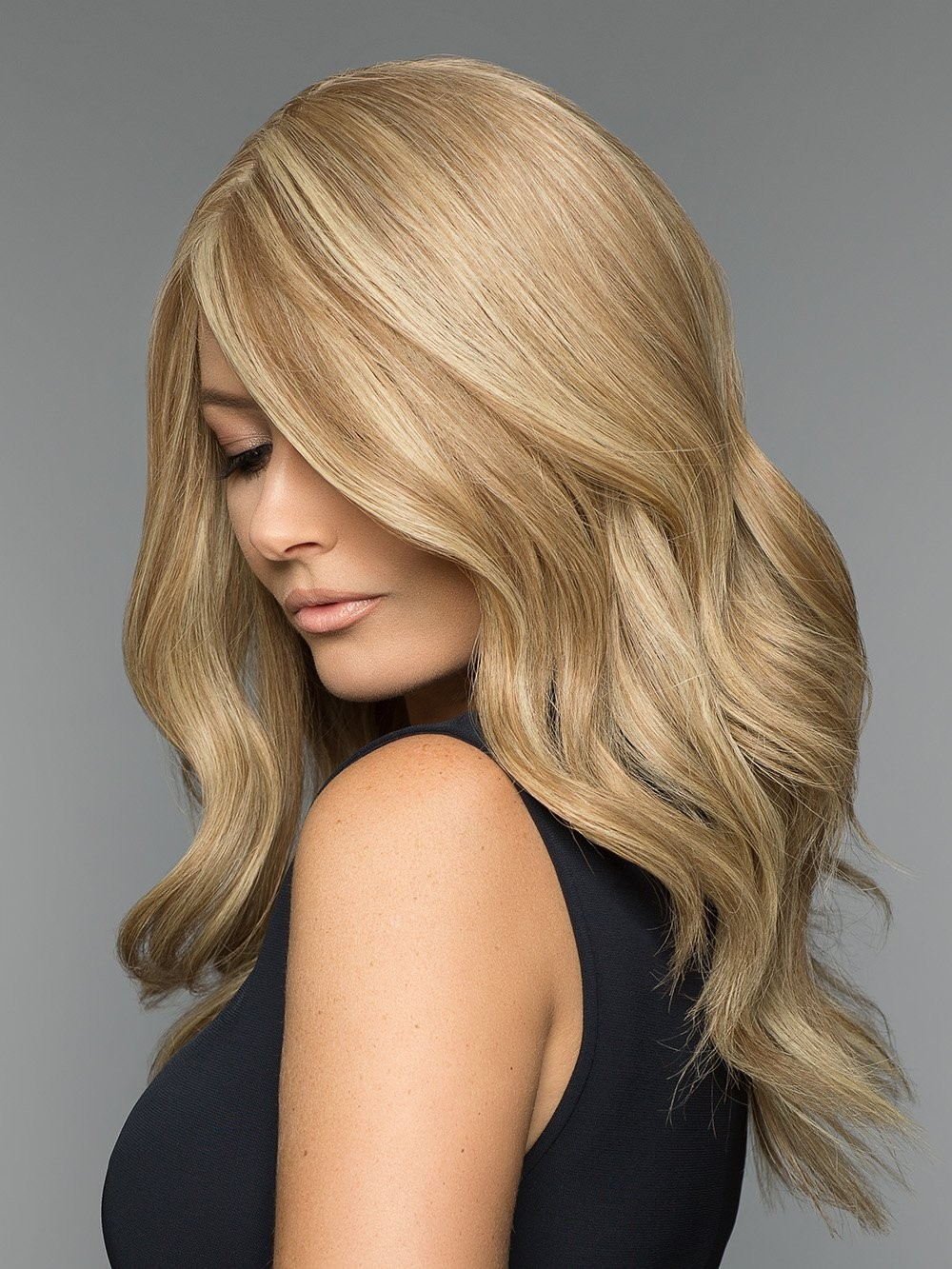 Luxurious 100% Human Hair Lace Front Monofilament Women Wigs