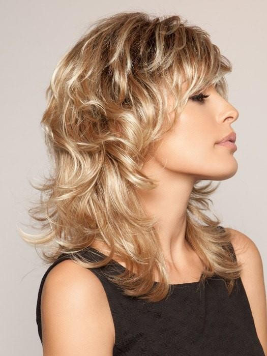 Mid Length Shag Wigs With Layers