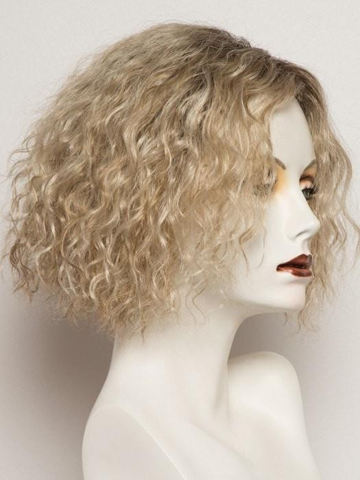 Natural Looking Curly Blonde Lace Front Wigs