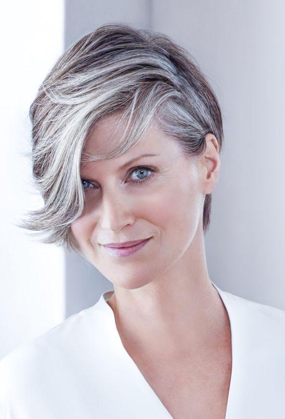 natural short grey hair wigs for women over 40  rewigscouk
