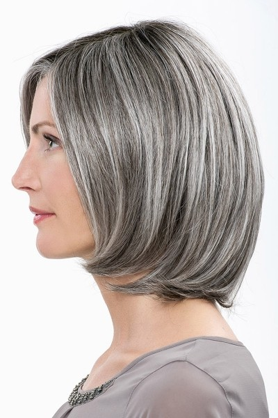 Bob Lace Front Mono Top Natural Looking Short Synthetic Wigs