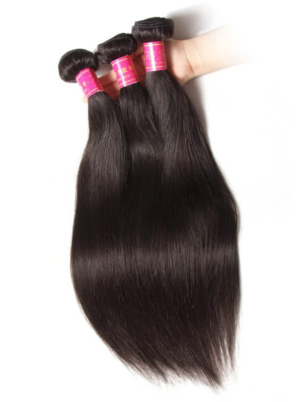 Virgin 4 Bundles Straight Peruvian Hair Weave Deals Human Hair