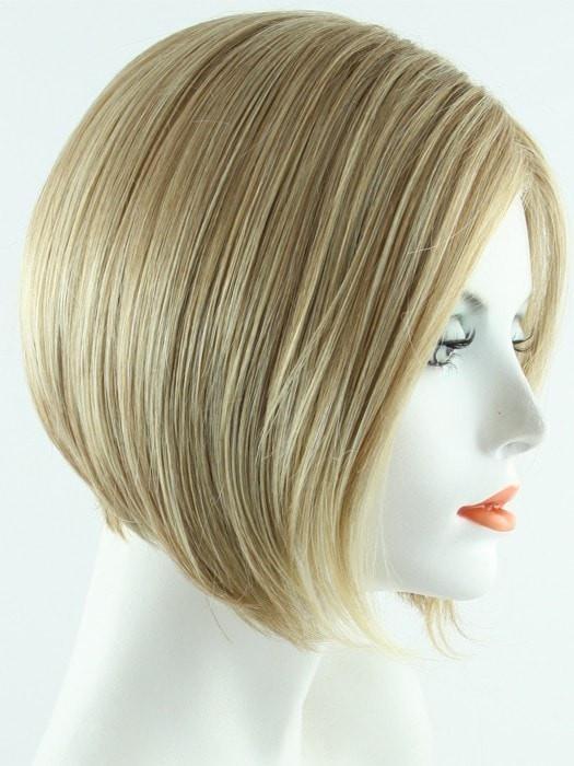 Shiny Straight Short Blonde Bob Wigs