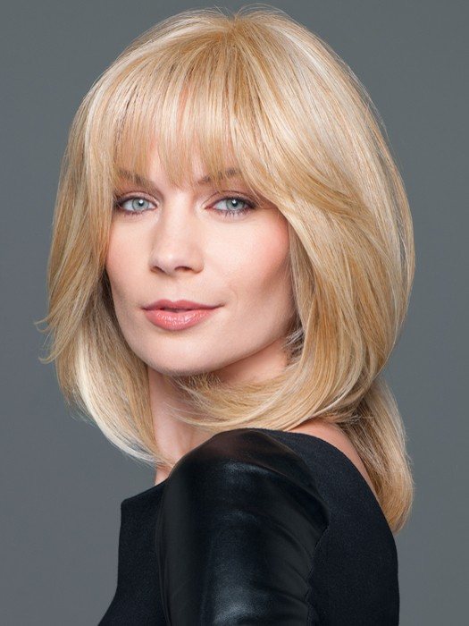 Synthetic Top Blonde Hairpiece