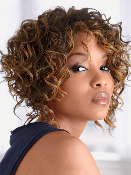 Deep Wavy Synthetic Short Hair Wigs