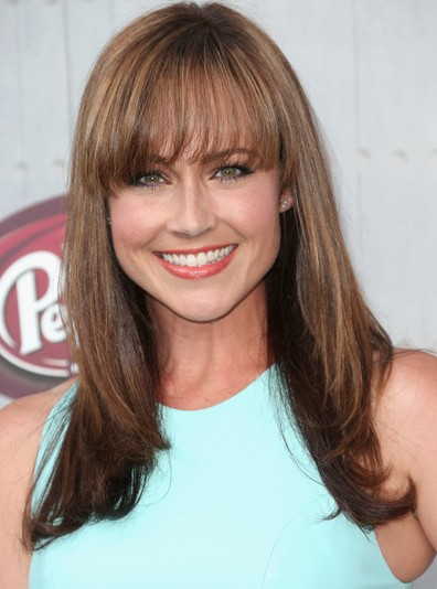 Nikki Deloach Lace Front Mono Top Long Straight Cut Wigs
