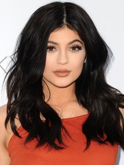 Kylie Jenner Natural Black Lace Front Human Hair Wig - Rewigs.co.uk 0403ac9b8