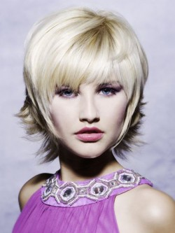 Short Pixie Cut Ladies White Wig Rewigs Co Uk