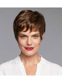 b60bc023f262e0 Natural Look Grey Wigs For Older Ladies - Fashion Short Grey Wigs For Senior